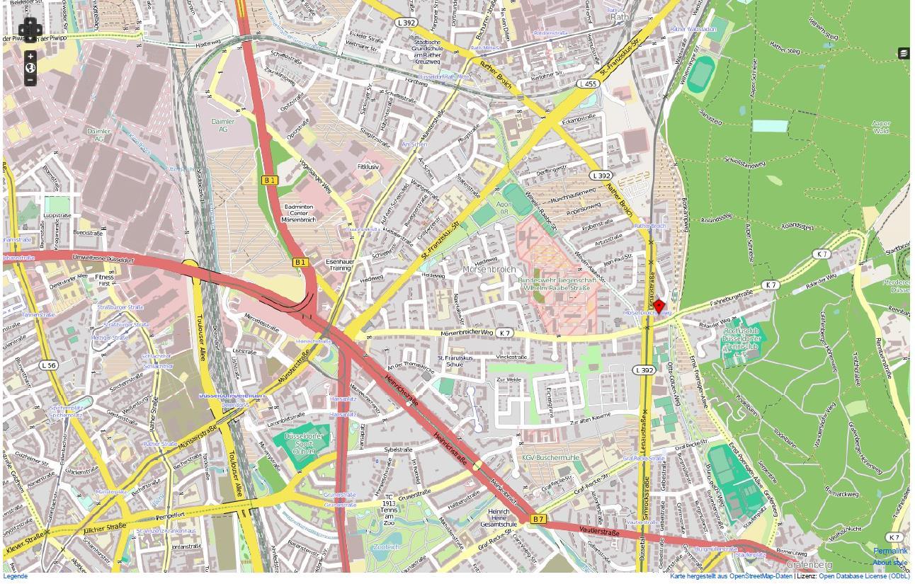 Düsseldorf Karte.Karte Düsseldorf Näher Dran Juconomy De